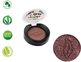 PuroBIO Certified Organic Highly-Pigmented and Long-Lasting Duo-Chrome / Metallic Eyeshadow no 15 Antique Rose with Vitamin E and Plant Oils. VEGAN.ORGANIC.MADE IN ITALY.
