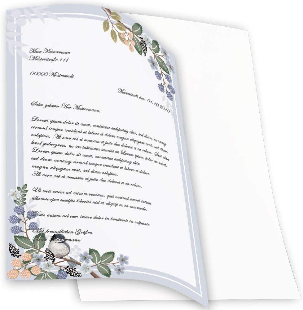 Printemps Motif de ressort 100 feuilles DIN A4 Paper-Media Papier /à motif BRANCHES DE PRINTEMPS Saisons