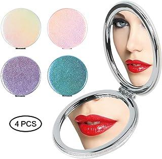 16,5 cm Schramm/® Specchio LED a specchio 7 volte ingrandito con ventosa Specchio di trucco LED a ventosa ca