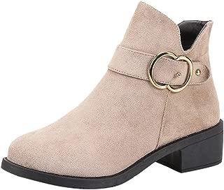 New Women Martin Boots Autumn Winter Boots Classic Zipper Snow Ankle Boots Winter Suede Warm Fur Plush Women Shoes 35-40