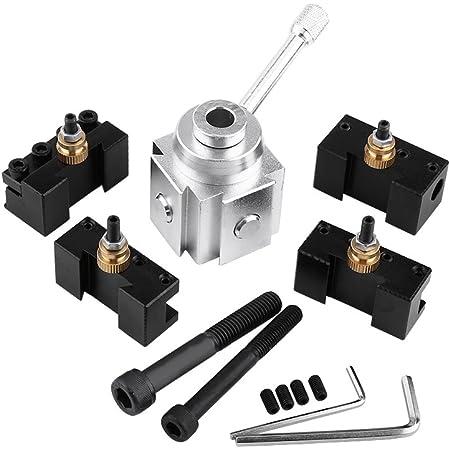Ersatz Drehbar Drehbank Werkzeug Stahl Silber CNC Metallbearbeitung Langlebig