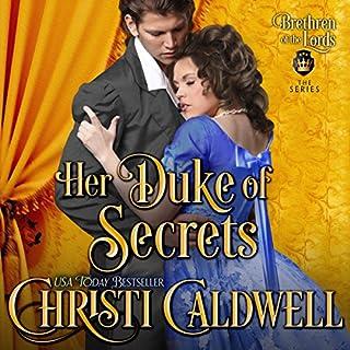 Her Duke of Secrets audiobook cover art