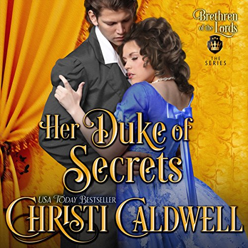 Her Duke of Secrets audiobook cover art