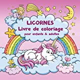 Licornes Livre de coloriage pour enfants et adultes + BONUS coloriage licornes gratuites (PDF pour imprimer)