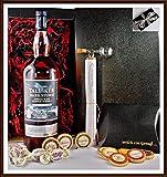 Geschenk Talisker Dark Storm Whisky 1 Liter mit Flaschenportionierer + 10 Edel Schokoladen von DreiMeister & DaJa + 4 Whisky Fudge, kostenloser Versand