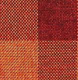 Raumausstatter.de Möbelstoff Rio KARO 901 Karomuster rot