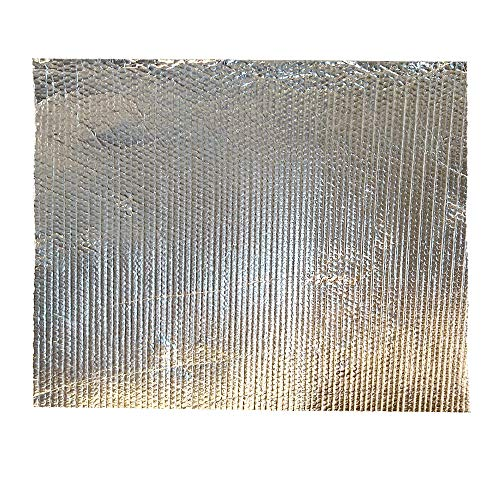 Reflector, brandvertragend, voor radiator, 100 x 60 cm