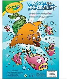 Crayola - Mer-Creatures Coloring Book