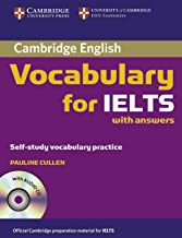 Cambridge Vocabulary for Ielts : Edition with Answers/audio Cd