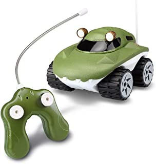 Kid Galaxy Amphibious RC Car Morphibians Gator. All Terrain Remote Control Toy, 49 MHz