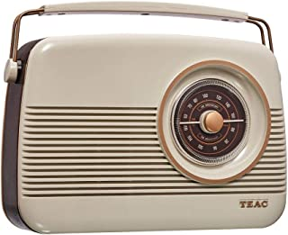 TEAC Retro DAB+ Digital Radio with AM/FM | LCD Display| Preset Stations