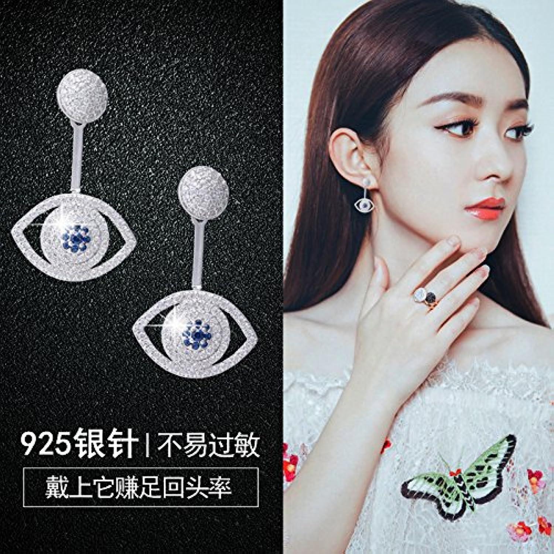 Korea Zircon Diamond Earrings 925 Sterling Silver pin Women Girls Hypoallergenic Earrings Minimalist Elegant Earrings Ear Jewelry