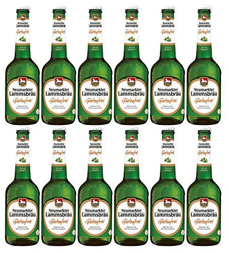 Lammsbräu - Bio Glutenfreies Bier 4,7% Vol. - 12x0,33l inkl. MEHRWEG Pfand