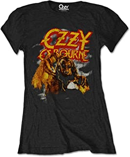 Ozzy Osbourne 'Vintage Werewolf' Womens Fitted T-Shirt