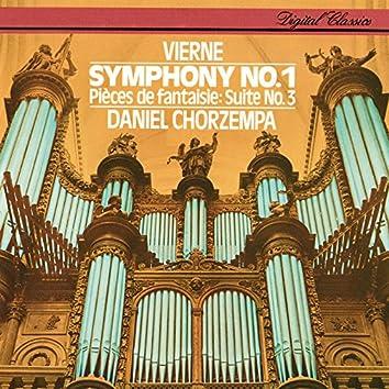 Vierne: Organ Symphony No.1; Pièces de fantaisie