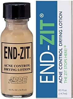 End-zit Acne Control Drying Lotion (Medium/Dark), 0.5 Ounce