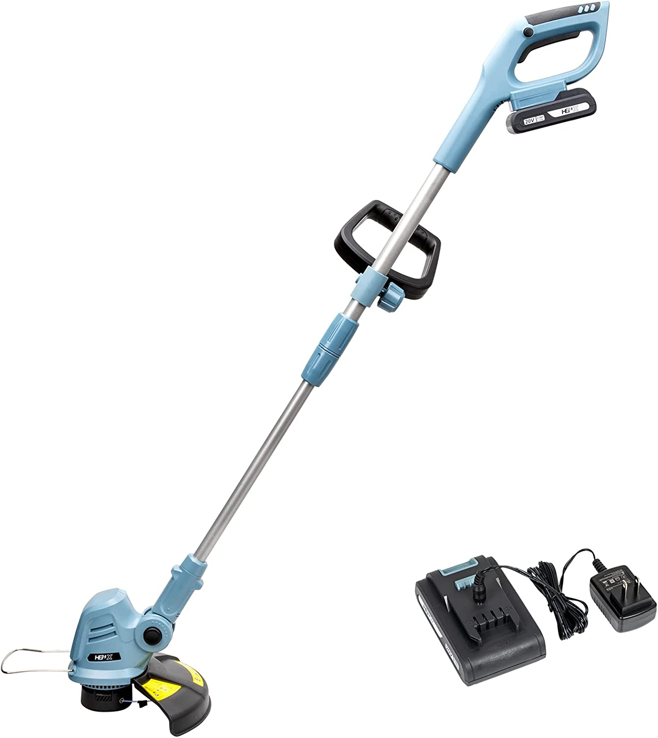HENX 10-Inch Cordless 5 ☆ very popular Minneapolis Mall String Trimmer Max 2 Lithium-ion with 20V