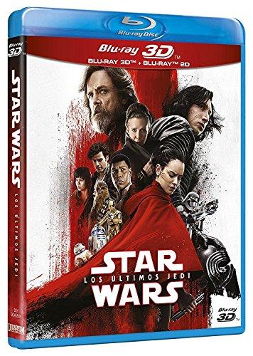 Star Wars: Los Últimos Jedi (3D+2D) [Blu-ray]