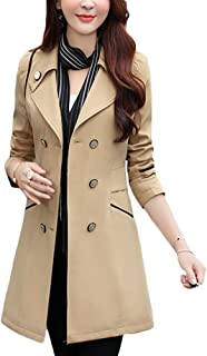 59fe56bcbb81 Amazon.com  Khaki Trench Coat