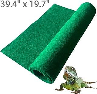BLSMU Reptile Carpet,Terrarium Liner,Lizard Cage Liner,Chameleon Bedding,Iguana Substrate,Reptile Mat for Bearded Dragon,Turtles,Snake