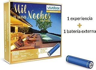 VIVABOX Caja Regalo -MIL & UNA Noches para ENAMORAR- 1.900 estancias. Incluye: batería Externa Smartphone