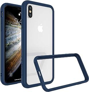 RhinoShield(ライノシールド) iPhone XS/X CrashGuard NX バンパーケース [3.5mの落下衝撃からも保護] | 耐衝撃 カメラ保護 衝撃吸収 スリム設計 保護カバー - ロイヤルブルー