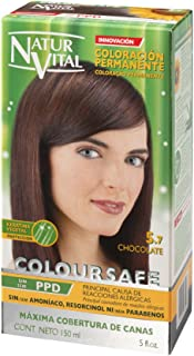 Permanent Hair Dye, Permanent Hair Color.Coloursafe, No Ammonia,Resorcinol or Parabens