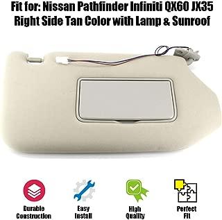 2013 nissan pathfinder sun visor fix