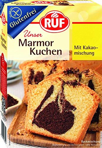 RUF Marmor Kuchen glutenfrei, 8er Pack (8 x 430 g)