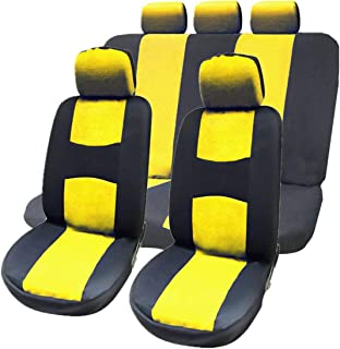 mymerlove Car Seat Covers Full Set Automobile Seat Protection Cover Universal Accessory