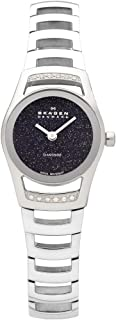 Skagen Women's Black Label Swiss Mvmnt Elegant with Stainless Steel Watch