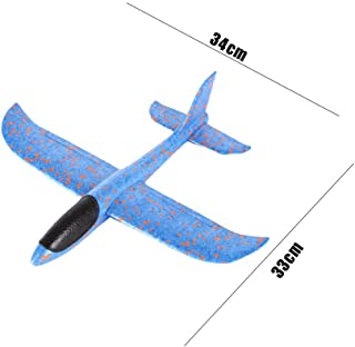Glider Airplane Inertia Aircraft Toy Foam Throwing Hand Launch Airplane Model