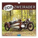 Technikkalender 'DDR-Zweiräder' 2021: 30 x 30 cm, mit Bildern von Ralf-Christian Kunkel
