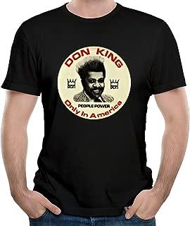 Men's Don King Poster American Boxing Promoter T-shirt