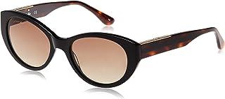 نظارات شمسية لا كولور بلوك بتصميم بيضوي للنساء من لاكوست، لون اونيكس