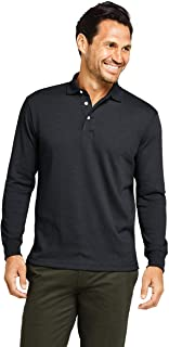 mens long sleeve polo shirts with collar