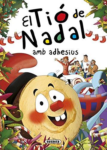 El Tió de Nadal amb adhesius (Contes i tradicions catalanes amb adhesius)