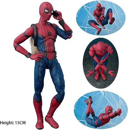 COOL MODEL Marvel Spider-Man Figura De Acción Modelo De Spiderman Regreso A La Escuela Regalo De Temporada