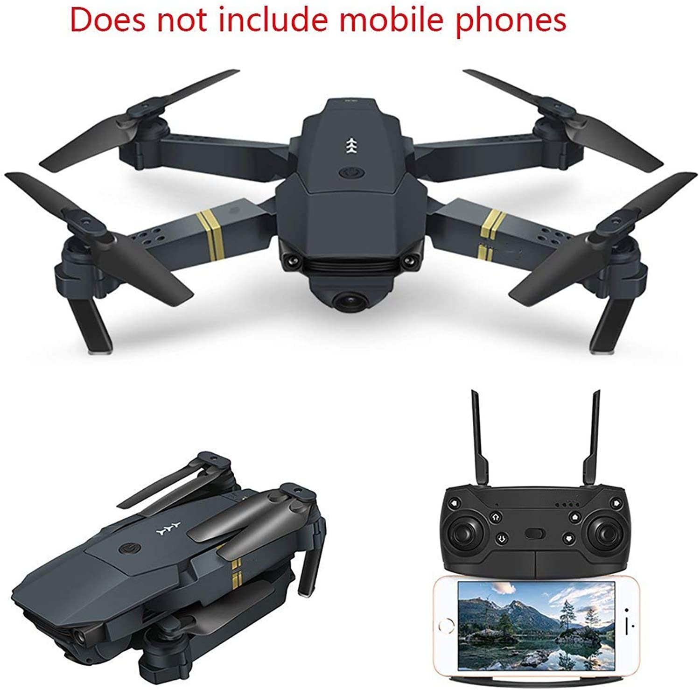 mas preferencial Drone RC Con Cámara Quadcopter Wifi Wifi Wifi FPV Con Cámara De Gran Angular De 2 MP Control De Altura Plegable   Flip 3D   Control De Aplicación Helicóptero De Bolsillo Halloween Navidad Cumpleaños Para Niños  80% de descuento