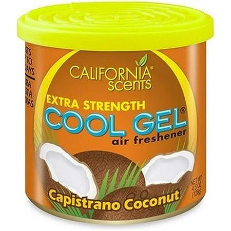 California Scents Cg4 1216mc Cool Gel 4 5 Unzen Cs Spüler Capistrano Coconut Auto