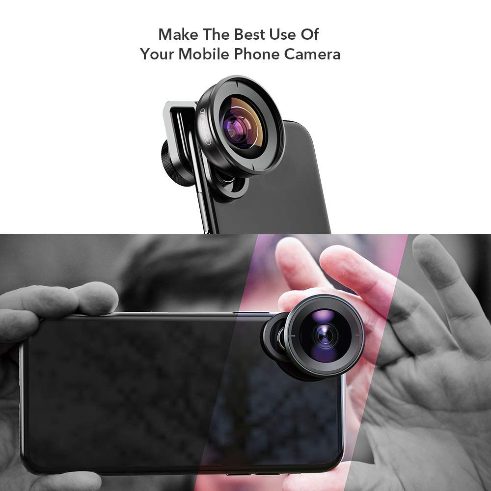 Apexel 110°Wide Angle Lens for iPhone,Pixel,and Samsung Galaxy ...