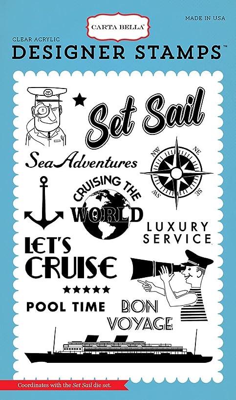 Carta Bella Paper Company Set Sail Stamp
