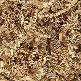 Papel triturado, 100 gramos de relleno triturado para embalaje de regalo de cesta (marrón)