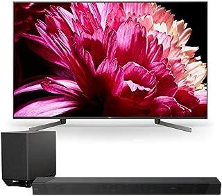 "Sony XBR65X950G 65"" BRAVIA 4K Ultra HD HDR Smart TV with HT-ST5000 7.1.2ch 800W Dolby Atmos Sound Bar"