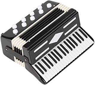Alano Mini Instrument de Musique accordéon réplique Instrument de Musique décoration Ornements Cadeau Musical
