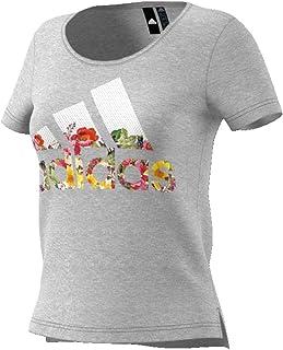 62ce0481be6f adidas Bos Flower Tee, Maglietta Donna