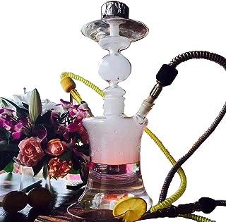 【大型サイズ 】ガラス シーシャ 水タバコ 水パイプ フッカー ケース入り 喫煙具 Shisha Hookah 全品検品済みガラスタイプ