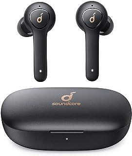 Cuffie Bluetooth Soundcore Life P2, auricolari bluetooth con 4 microfoni, 40 ore di riproduzione, IPX7, riduzione dei rumori cVc 8.0, driver in grafene, cuffie wireless per lavoro e viaggio