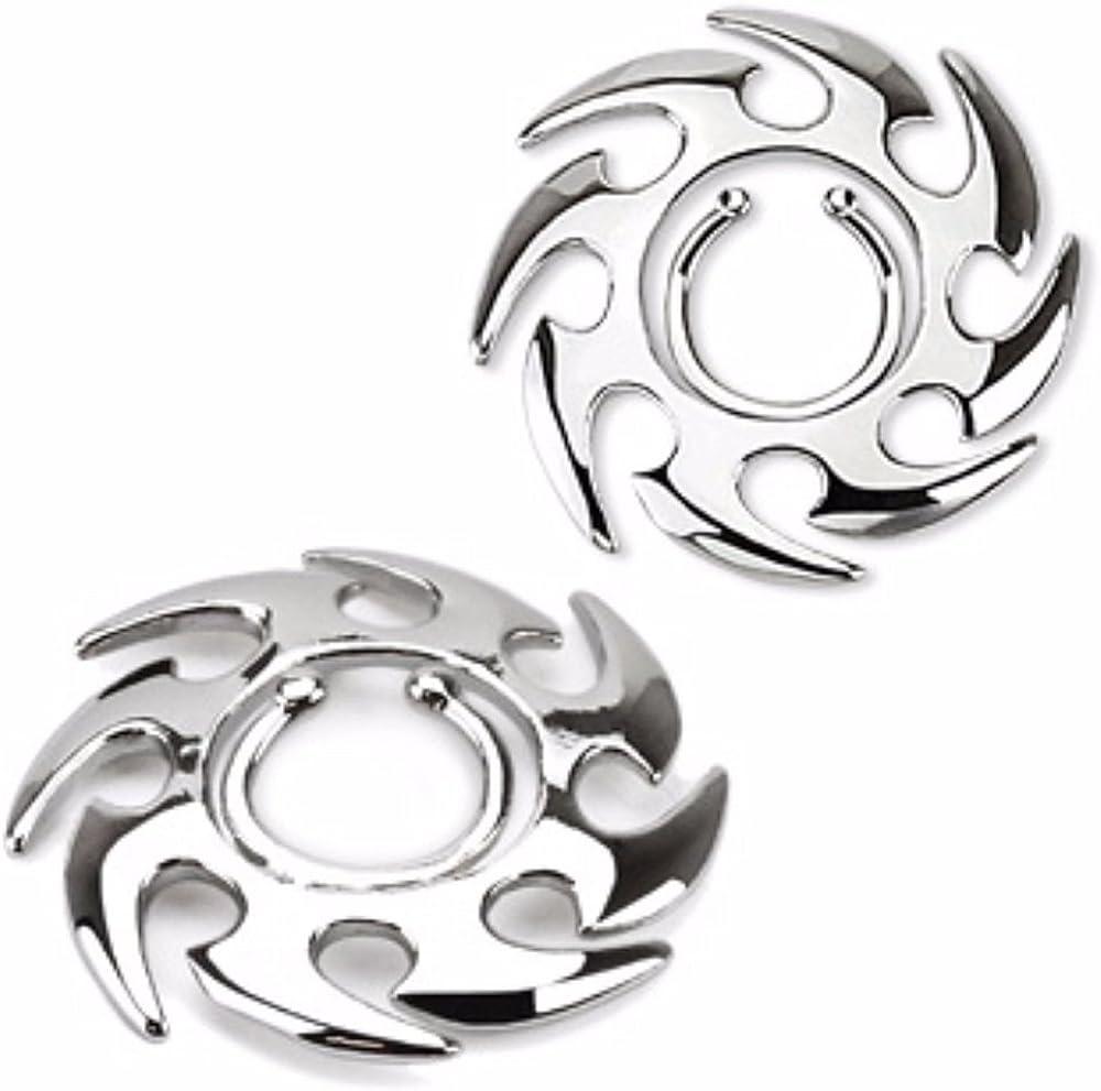 Covet Jewelry Tribal Swirl Clip On Nipple Ring