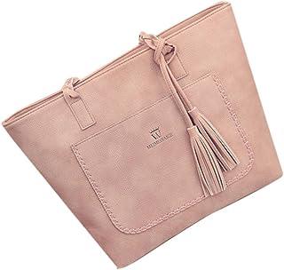 Damenhandtaschen Ronamick Damen Mode Quaste Handtasche Schultertasche große Tote Damen Geldbörse